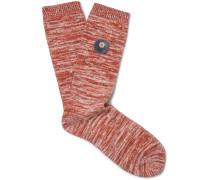 Melangé Cotton-blend Socks