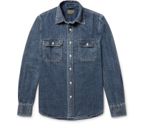 Kevin Slim-fit Denim Shirt