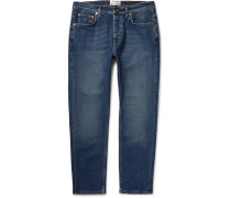 Town Slim-fit Washed-denim Jeans