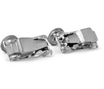 Gunmetal-tone Rhodium-plated Cufflinks