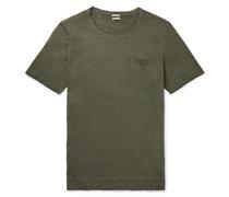 Panarea Watercolour-Dyed Cotton-Jersey T-Shirt