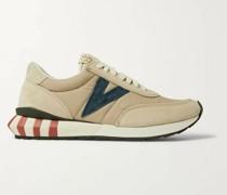 Attica Suede-Trimmed Nylon Sneakers