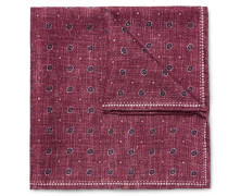 Double-faced Printed Silk Pocket Square