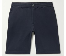 Stretch Cotton and Modal-Blend Piqué Shorts