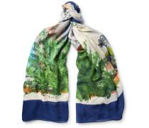 Tarantella Printed Modal And Silk-blend Scarf