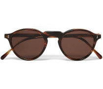Capri Round-frame Acetate Sunglasses