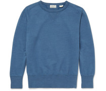Bay Meadows Loopback Cotton-jersey Sweatshirt