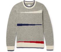 Varsity Intarsia Wool Sweater