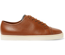 Levah Full-grain Leather Sneakers