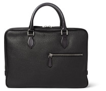 F007 Grained-leather Briefcase