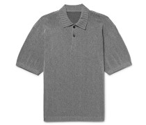 Slim-fit Knitted Polo Shirt