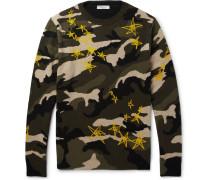 Printed Virgin Wool Sweater