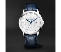 Classima Automatic 42mm Stainless Steel and Alligator Watch, Ref. No. M0A10333