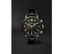 Capeland Automatic Chronograph 42mm Stainless Steel and Leather Watch, Ref. No. M0A10452