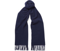 Canada Fringed Virgin Wool Scarf