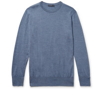 Slim-fit Merino Wool Sweater