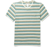 Striped Hemp And Organic Cotton-blend Jersey T-shirt