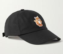 Logo-Appliquéd Cotton-Blend Twill Baseball Cap