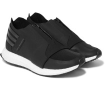 X-ray Mesh-trimmed Neoprene Sneakers