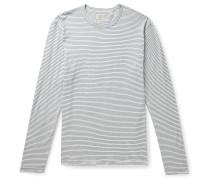 Isle Striped Cotton-Jersey T-Shirt
