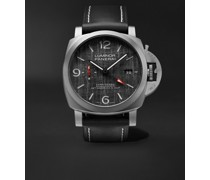 Luminor Luna Rossa GMT Automatic 44mm Titanium and Leather Watch, Ref. No. PAM01036