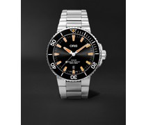 Aquis Date Automatic 43.5mm Stainless Steel Watch, Ref. No. 01 733 7730 4159-07 8 24 05PEB