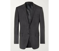 O'Connor Slim-Fit Prince of Wales Checked Wool and Silk-Blend Suit Jacket