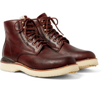 Virgil Burnished-Leather Boots
