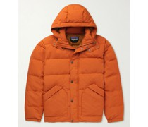 Downdrift Oversized Recycled NetPlus Down Hooded Jacket
