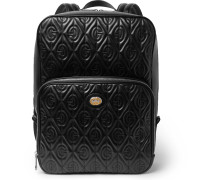 Mopheus Embossed Leather Bacpack