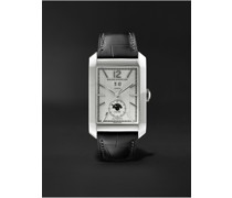 Hampton Automatic Dual Time 31mm Stainless Steel and Alligator Watch, Ref. No. M0A10523