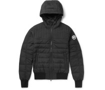 Cabri Quilted Shell Hooded Down Jacket