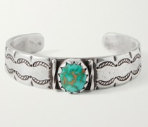 Cheyenne Sterling Silver Turquoise Cuff