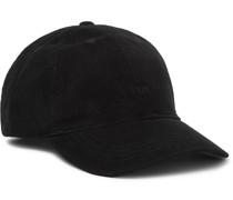 Logo-Embroidered Cotton-Corduroy Baseball Cap