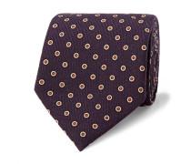 8cm Polka-dot Wool Tie