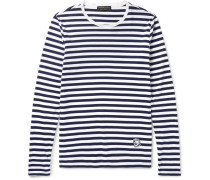 Runway Striped Cotton-jersey T-shirt