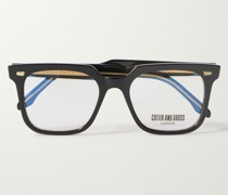 1387 Square-Frame Acetate Optical Glasses
