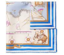 Mediterraneo Printed Silk-twill Pocket Square