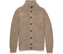 Wool And Yak-blend Cardigan