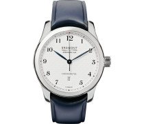 Ac I Automatic Chronometer 43mm Stainless Steel And Leather Watch