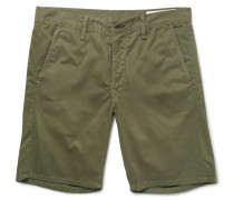 Washed Cotton-twill Chino Shorts