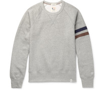 + Todd Snyder + Champion Harry's Fleece-back Cotton-blend Jersey Sweatshirt