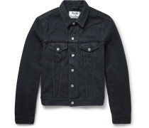 Slim-fit Overdyed Denim Jacket
