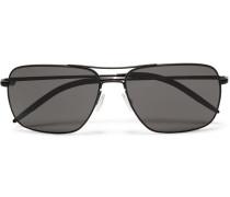 Clifton Square-frame Metal Sunglasses