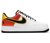 Air Force 1 07 LV8 Rayguns Satin-Trimmed Leather Sneakers