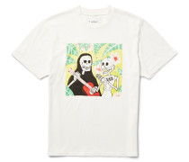 Misanthropic Love Printed Cotton-jersey T-shirt