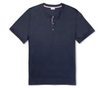 Jersey Henley Pyjama T-shirt