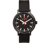 Stop2go Brushed-steel Watch