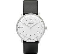 Max Bill Stainless Steel And Leather Watch