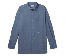 Cotton-Blend Chambray Shirt